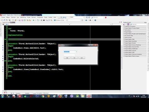 Xxx Mp4 Rad Studio Delphi 012 ComboBox 003 Add Delete Updat Items 3gp Sex