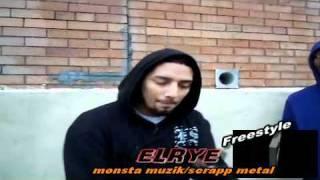 Elrye MONSTA MUZIK/SCRAPP METAL Freestyle On THE ANALYZER DVD 11/17/2011