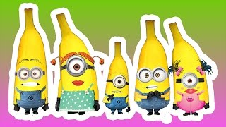 Minions Finger Family Nursery Rhymes for Kids | Banana Finger Family