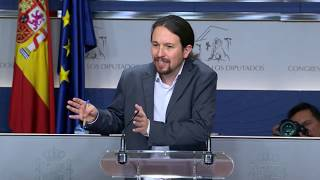 Pablo Iglesias y Pedro Sánchez acercan posturas frente al PP