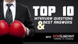 Top 10 Interview Questions & Best Answers with Don Sumdany   Ayman Sadiq