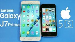 Samsung Galaxy J7 Prime vs iPhone 5S!