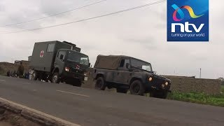 KDF soldiers involved in accident along Kangundo road