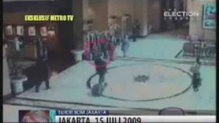 JW Marriott Jakarta Bombing July 2009 Captured by CCTV