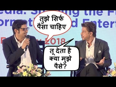 Xxx Mp4 Shahrukh Khan FIGHTS With Arnab Goswami For INSULTING Him In Public 3gp Sex