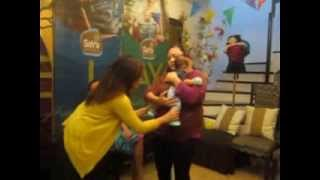 Salu-salo Sessions: YAKAP position with Baby David 2.5 months