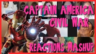 Captain America: Civil War - Trailer #2 - Special GIRLS Reactions Mashup