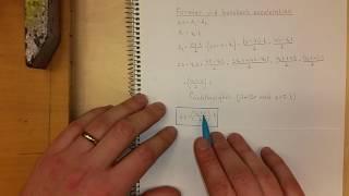 Fysik 1 Formler vid konstant acceleration