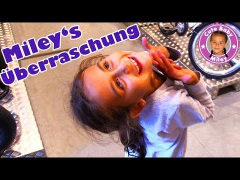 watch MILEY WIRD ÜBERRASCHT! Und sie PRANKT PAPA   CuteBabyMiley