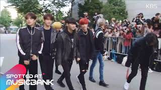 [13102017] Spotted at Musicbank 뮤직뱅크 출근길 10 13   GOT7 ( 갓세븐)