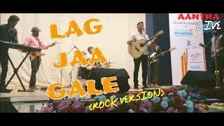 Lag Jaa Gale (FLUTE ROCK version)| Ishaan Mishra | (LIVE)