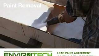 EnviroTech Restoration Services - Removing Paint from Steel Beams