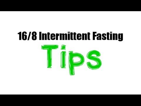 Four Tips for 16/8 Intermittent Fasting