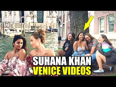 Xxx Mp4 Shahrukh Khan S Daughter Suhana Khan VACATIONING In Venice With Friends Latest Bollywood Updates 3gp Sex