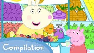 Peppa Pig Episodes - Food Compilation (new 2017!!) - Cartoons for Children