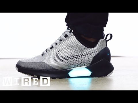 Meet the HyperAdapt, Nike's Awesome New Power-Lacing Sneaker   WIRED