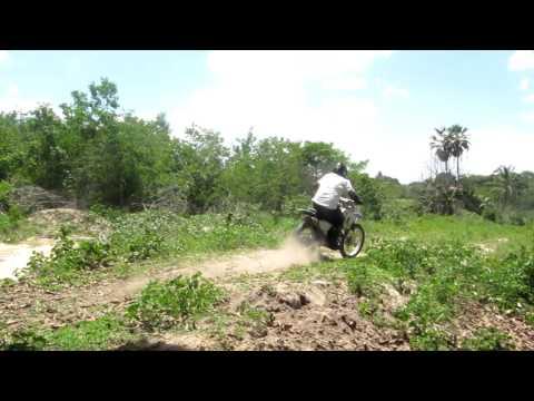 trilha de moto na lagoa do serjão