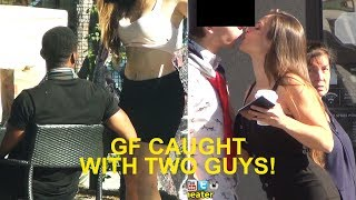 GIRL CAUGHT CHEATING with 2 GUYS (EXPOSED!!!!)