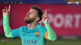 اهداف مباراة برشلونة وايبار 4-0  شاشة كاملة [الدوري الاسباني] 22-01-2017-HD