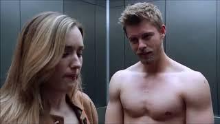 Blindspot 3x14 - Roman and Patterson the elevator scene