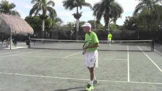 Tennis Backhand   One Handed Backhand Ahaaa!!!! Moment