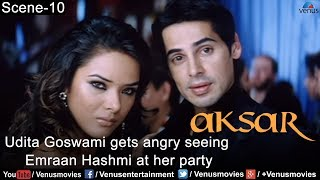 Udita Goswami gets  Angry to see Emraan Hashmi at the Party (Aksar)