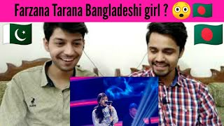 Farzana Tarana! Is She bangladeshi?? ||  Pakistani reaction
