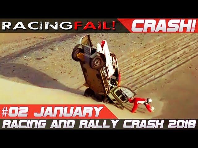 Dakar 2018 Special Week 2 Rally Crash Compilation | RACINGFAIL