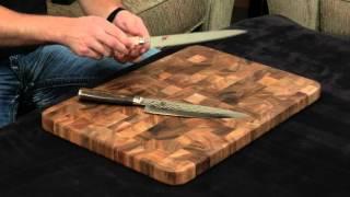 Miyabi Birchwood vs Shun Premier — Chef's Knife.