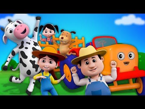 Petani Dalam dell | anak-anak sajak | Indonesia anak-anak lagu | Rhyme For Kids | Farmer In The Dell