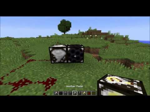 Minecraft TORNADO MOD Highlight (1.10.2 version)