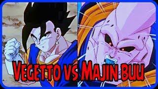 Vegeto vs Majin buu || pelea completa en español latino
