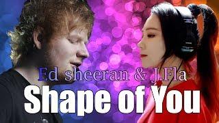 Ed Sheeran & J.Fla - Shape of You (Duet) HQ Audio