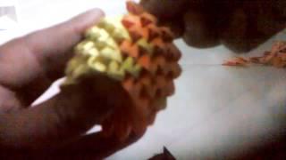 Como hacer a berpy de origami 3d
