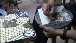 Cotto Rufoli - How born an handmade tile in Rufoli