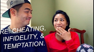 Recently Engaged Couple Re: Cheating, Infidelity, & Temptation(#HURTBAE)