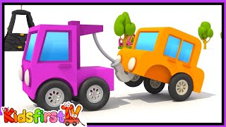 TOYS! Max Excavator Cartoons - TOW TRUCK Surprise Egg - Playground Games!