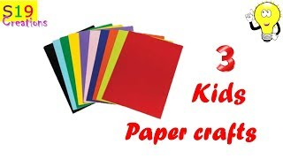 3 COOL AMAZING KIDS CRAFT IDEAS | Easy paper craft ideas | Diy arts and crafts | Best craft ideas