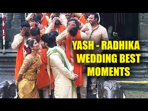 Xxx Mp4 Yash Radhika Pandith Wedding Best Moments 3gp Sex