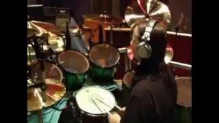 Joey Jordison - Drum Solo In Studio