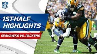 Seahawks vs. Packers First-Half Highlights   NFL Week 1