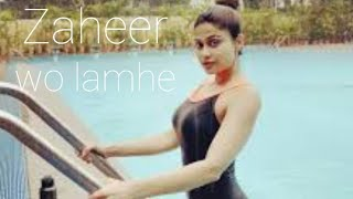 Woh lamhe - Zaher very hot video(quality pic)
