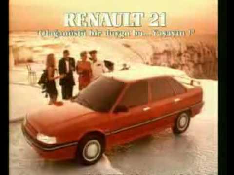 RENAULT 21 Türkiye REKLAMI MAiS
