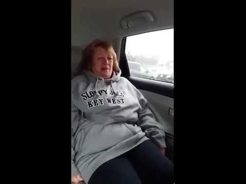 Women Stuck in Seat Belt