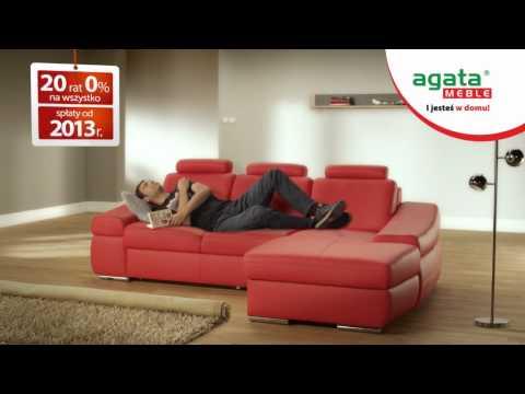 Reklama Telewizyjna Agata Meble Kupujesz co chcesz a spłacasz od przyszłego roku