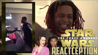 Daisy Ridley & John Boyega's Full Reaction to the Star Wars Trailer - REACTCEPTION