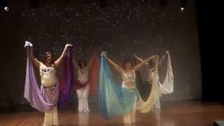 Coreografía Tamil doble velo