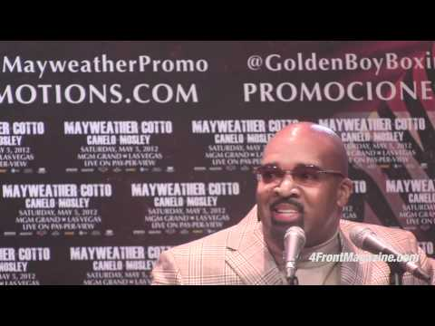 Mayweather and Cotto Press Conference
