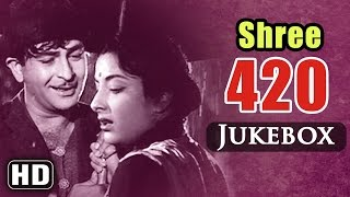 All Songs Of Shree 420 {HD} - Raj Kapoor -Nargis - Shankar Jaikishan Hits