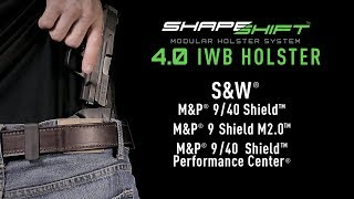 Best M&P Shield Concealment IWB Holster | Alien Gear Holsters